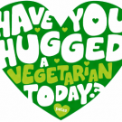 Today is Hug a Vegetarian Day