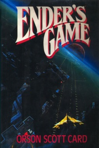 Ender's Game book cover.